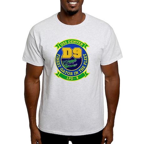 USS Denver LPD 9 Light T-Shirt