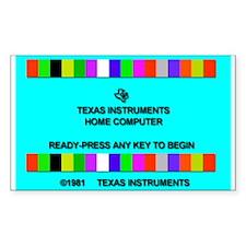 Ti-99/4a Title Screen Decal