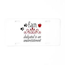 Twilight Fan Aluminum License Plate