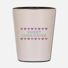 Sweet CHARMAINE Shot Glass
