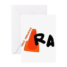 Rally -RA Greeting Card