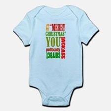 Its Merry Christmas Infant Bodysuit