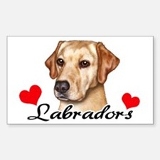 Love Labs - Yellow Sticker (Rectangle)