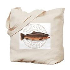 The Mountain Stream Co trout tote bag