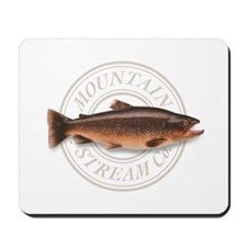 The Mountain Stream Co trout mousepad