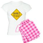 QUIET Egg Artist Women's Light Pajamas