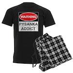 WARNING Pysanka Addict Men's Dark Pajamas