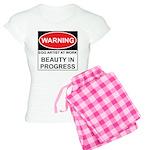 WARNING Artist @ Work Women's Light Pajamas