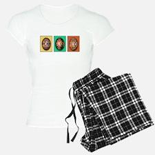 Eggs In A Row Women's Light Pajamas