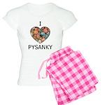 I love Pysanky 1 Women's Light Pajamas
