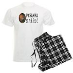 Pysanka Artist Men's Light Pajamas