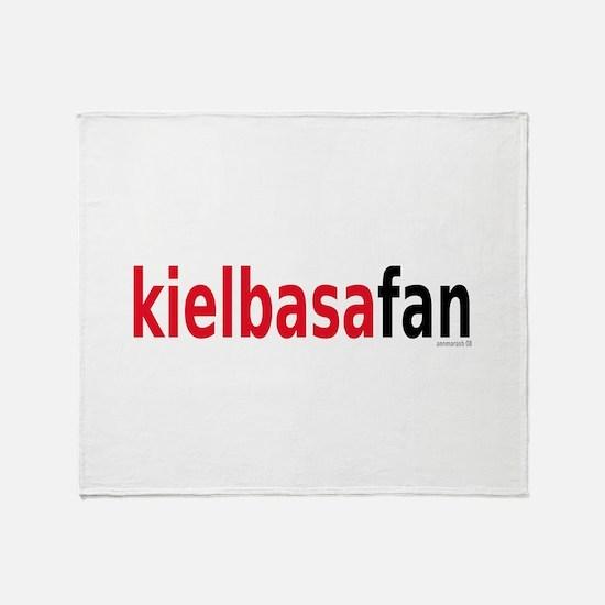 KielbasaFan Throw Blanket