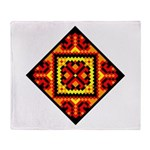 Folk Design 5 Throw Blanket