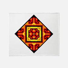 Folk Design 5 Throw Blanket