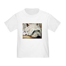WESTIE DOG T
