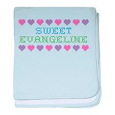Sweet EVANGELINE baby blanket