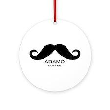 Adamo Coffee Ornament (Round)