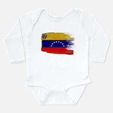 Venezuela Flag Long Sleeve Infant Bodysuit