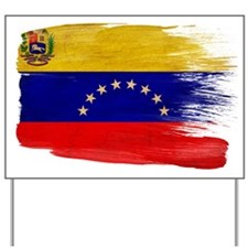 Venezuela Flag Yard Sign