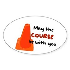 "Rally Cone ""Course Be With Yo Decal"