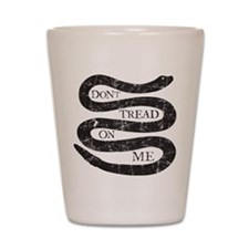 Colonial Don't Tread On Me Shot Glass