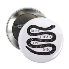 "Colonial Don't Tread On Me 2.25"" Button"