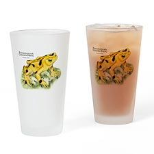 Panamanian Golden Frog Drinking Glass