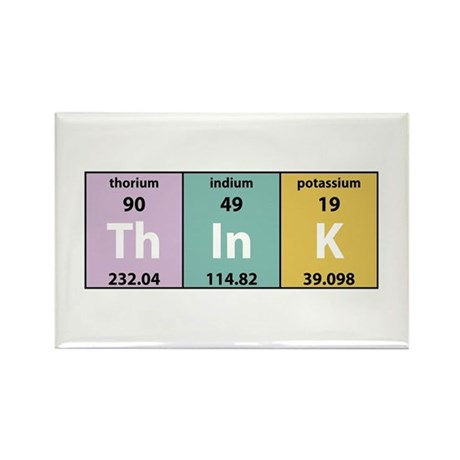 Chemical Think Rectangle Magnet