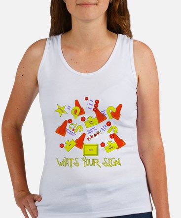What's Your Sign? Women's Tank Top