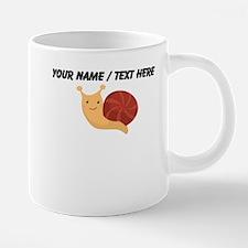 Custom Cartoon Snail Mugs