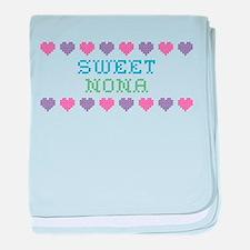 Sweet NONA baby blanket