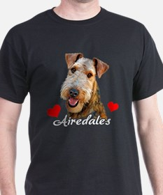 Love Airedales T-Shirt