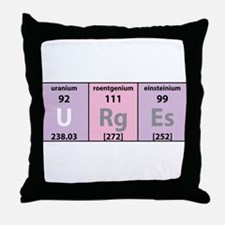 Chemical Urges Throw Pillow