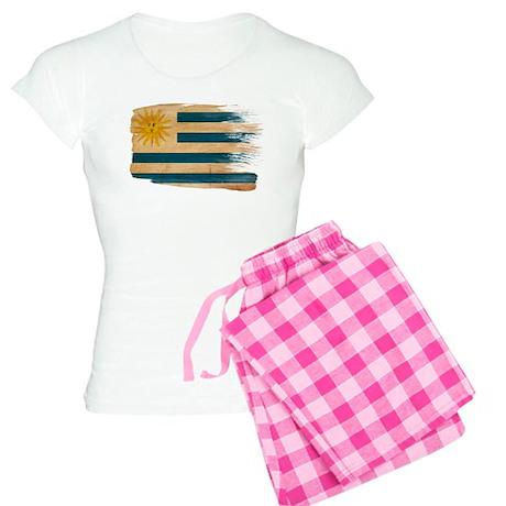 Uruguay Flag Women's Light Pajamas