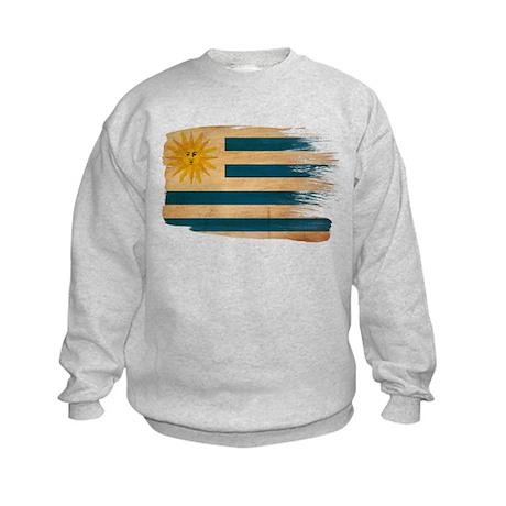 Uruguay Flag Kids Sweatshirt