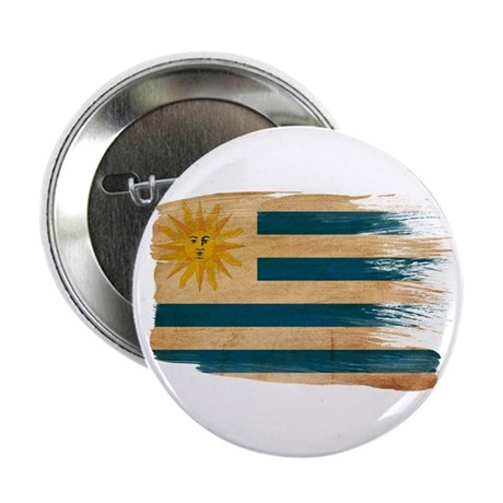 """Uruguay Flag 2.25"""" Button (100 pack)"""