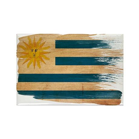Uruguay Flag Rectangle Magnet (10 pack)