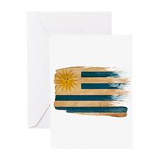 Uruguay Flag Greeting Card