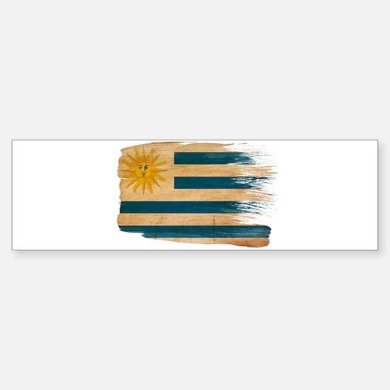 Uruguay Flag Sticker (Bumper)