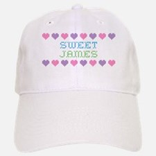 Sweet JAMES Baseball Baseball Cap