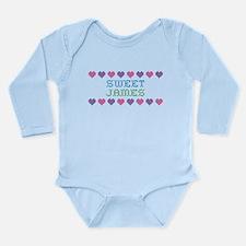 Sweet JAMES Long Sleeve Infant Bodysuit
