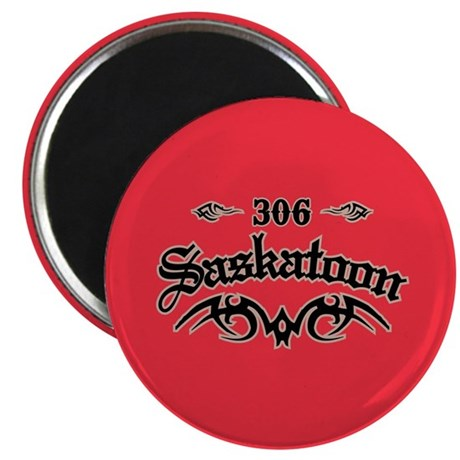Saskatoon 306 Magnet