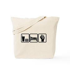 EAT-SLEEP-OCCUPY Tote Bag