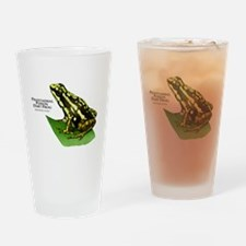 Phantasmal Poison Dart Frog Drinking Glass