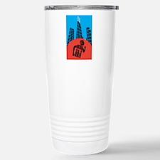 Unique 26.2 chicago Travel Mug