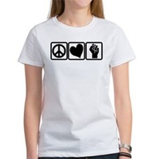 PEACE-LOVE-OCCUPY Tee