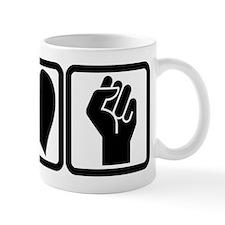PEACE-LOVE-OCCUPY Mug