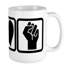 PEACE-LOVE-OCCUPY Mug