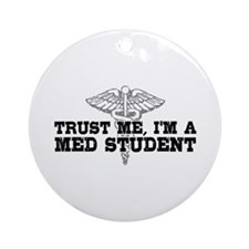 Med Student Ornament (Round)