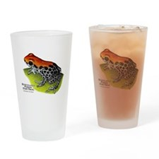 Red-Backed Poison Dart Frog Drinking Glass